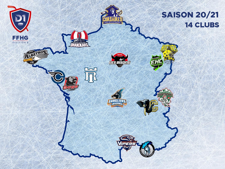 Carte de France Division 1 2020-2021