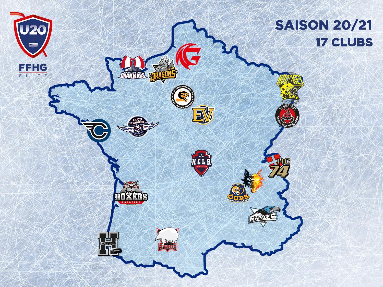 Carte de France U20 20-21