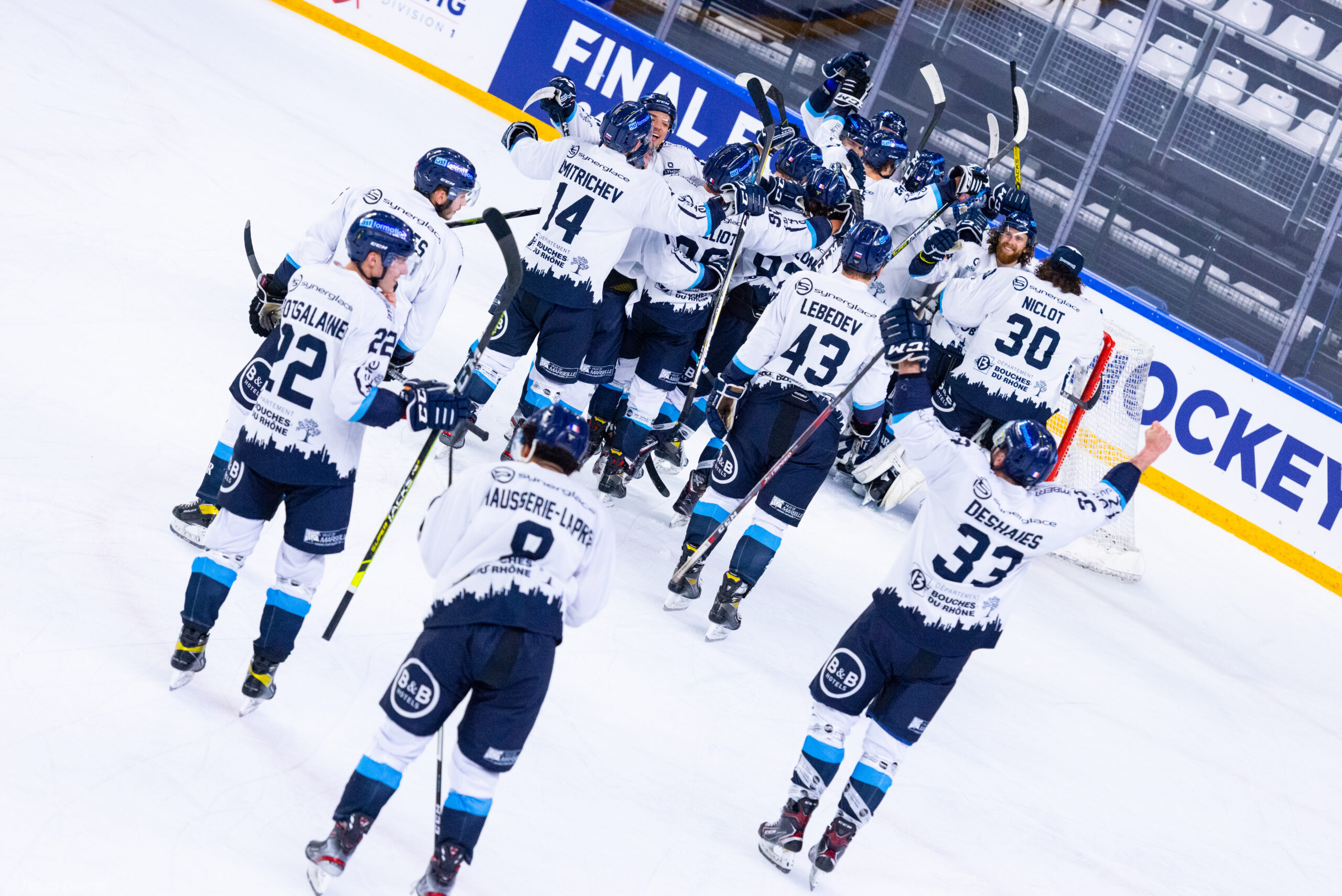 Demi-finale D1 Nantes – Marseille