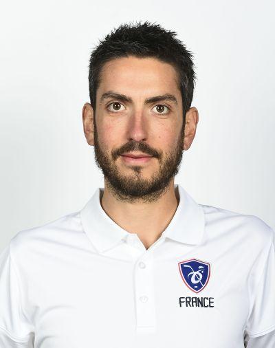 Jérôme Pérez, préparateur physique équipe de france féminine