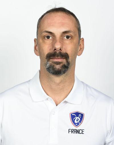 Sébastien Roujon, entraîneur adjoint équipe de France féminine