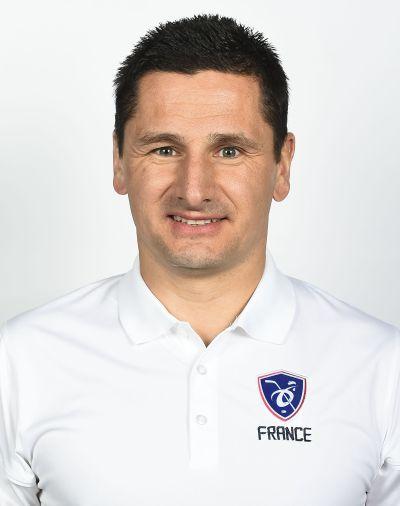 Olivier Tricoire, médecin de l'équipe de France féminine