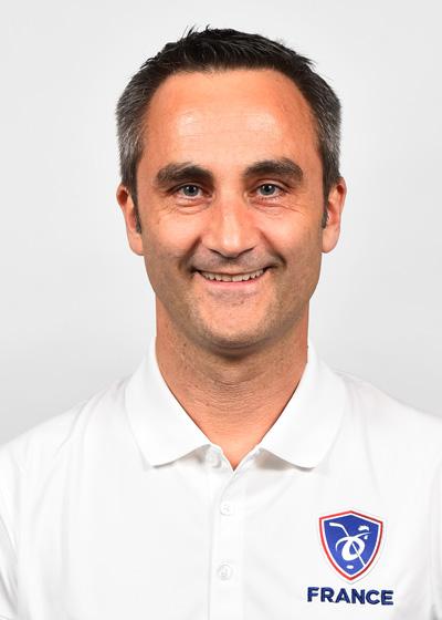 Renaud Jacquin, Manager EDF Senior Hommes et U20