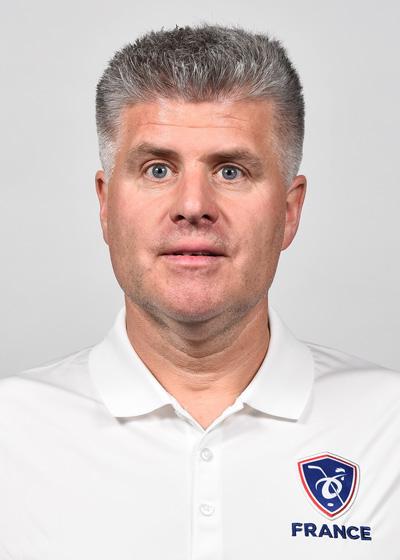 René Matte, entraîneur-adjoint EDF Seniors Hommes