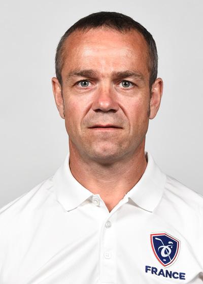 Bertrand Pousse, entraîneur vidéo EDF Seniors Hommes et entraîneur principal EDF U18 Femmes