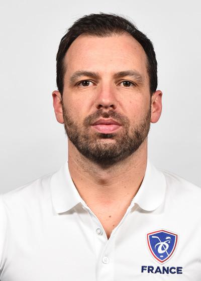 Sébastien Beaulieu, entraîneur gardiens EDF Seniors Hommes