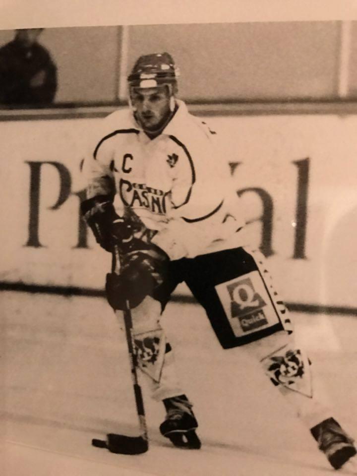 Patrice Fleutot Capitaine Rouen (98/99)
