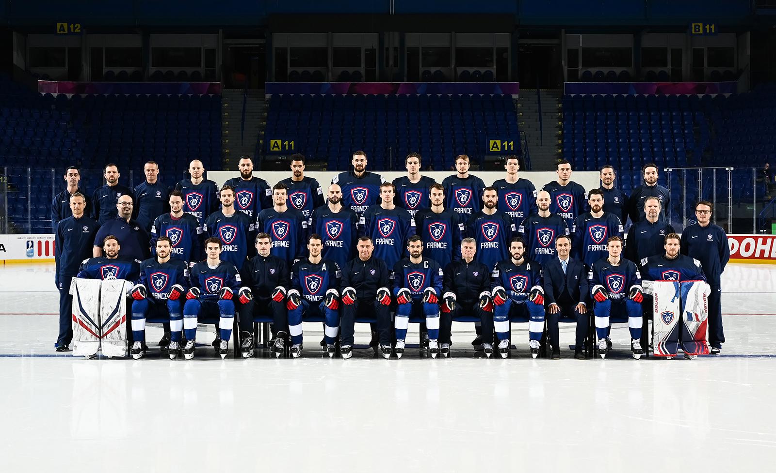 Photo officielle Equipe de France