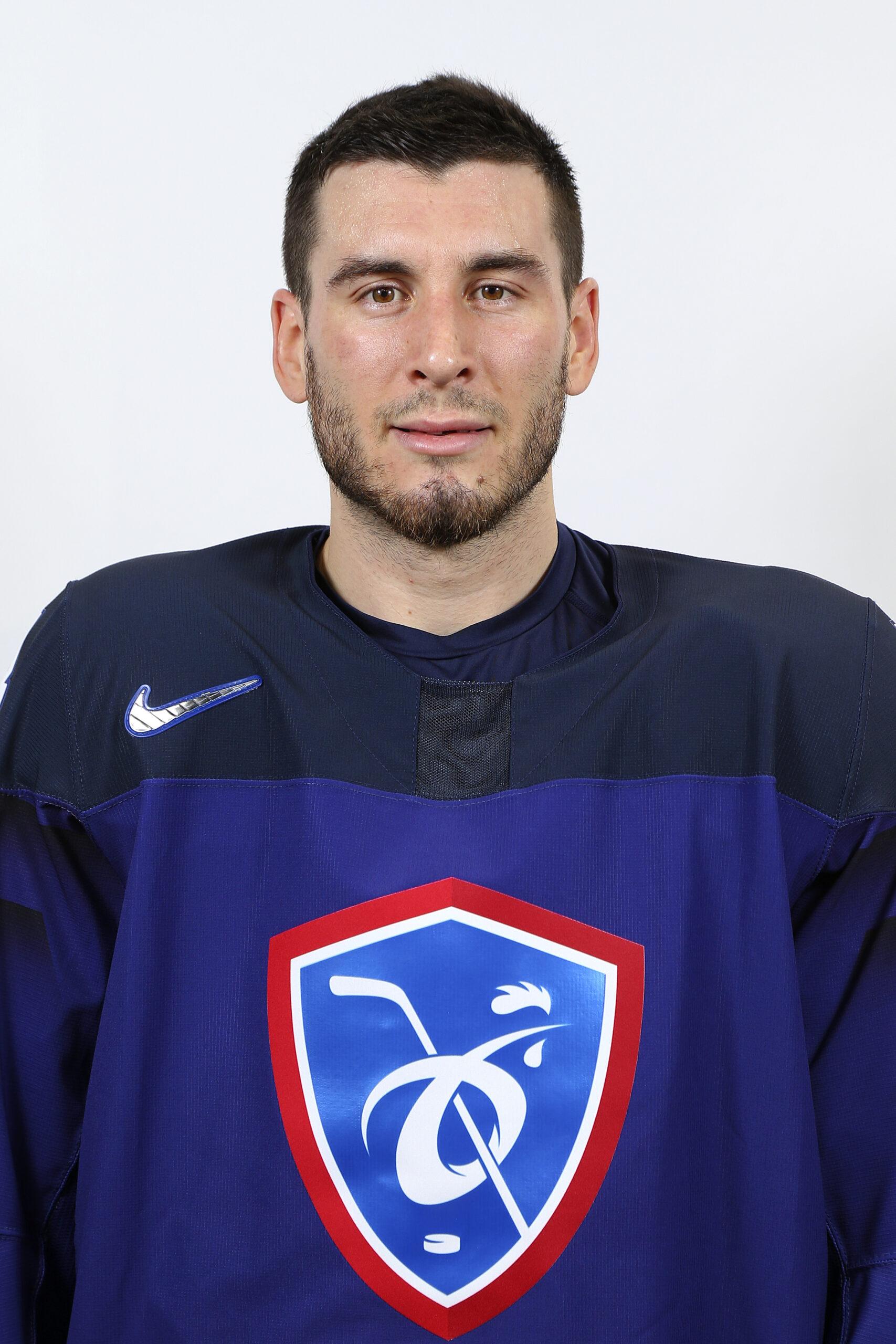 Yohann Auvitu, joueur de l'équipe de France