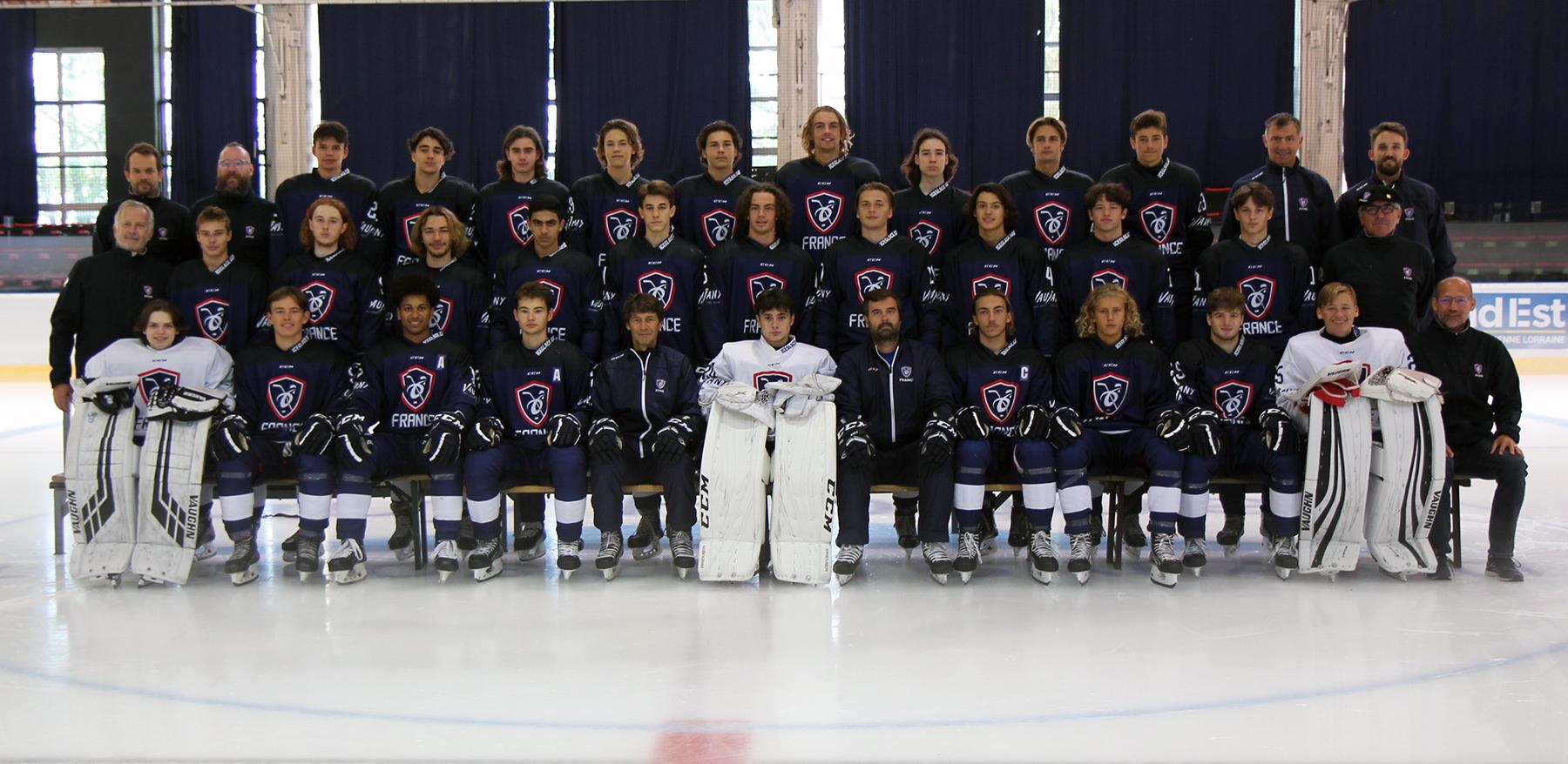 Photo collective EDF U18 Hommes - Mulhouse Août 2020