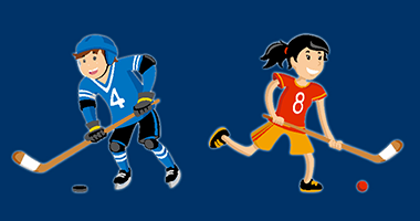 Vignette Hockey Ecole