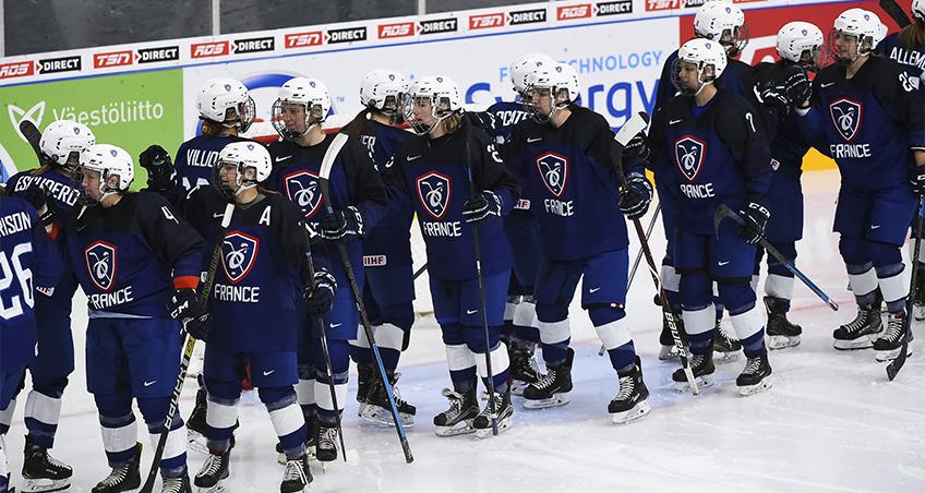 EDF Feminine au Mondia, Par Matt Zambonin / IIHF
